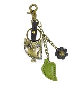 Chala Charming Key Chain Owl