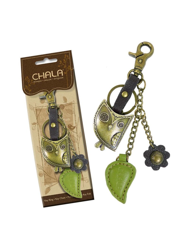 Chala Charming Key Chain Owl