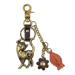 Chala Charming Key Chain Slim Cat
