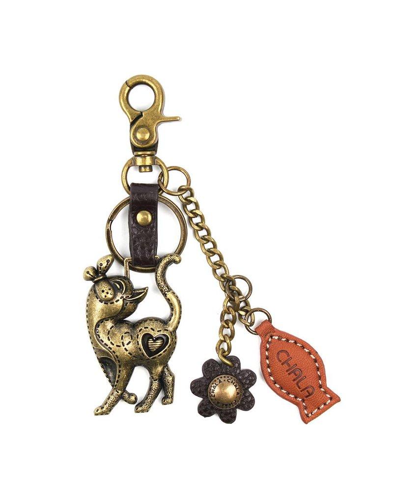 Chala Charming Key Chain Slim Cat
