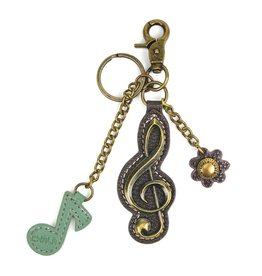Chala Charming Key Chain Treble Clef