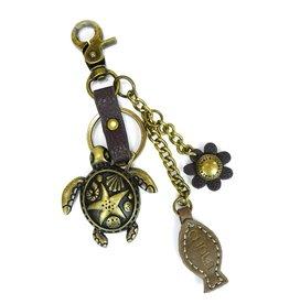 Chala Charming Key Chain Turtle Fish