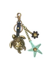 Chala Charming Key Chain Turtle Starfish