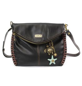 Chala Charming Crossbody - Black - Sea Turtle