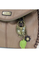 Chala Charming Crossbody - Brown - Owl