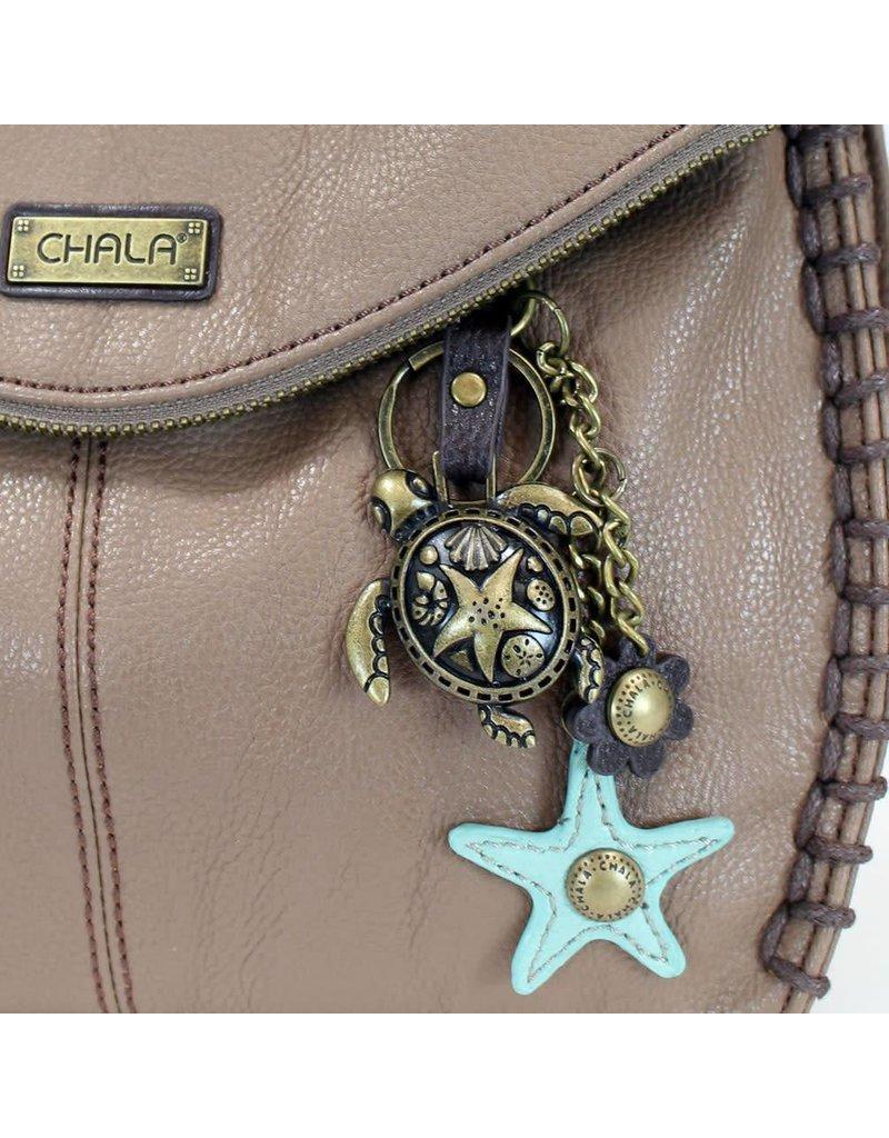 Chala Charming Crossbody - Brown - Sea Turtle