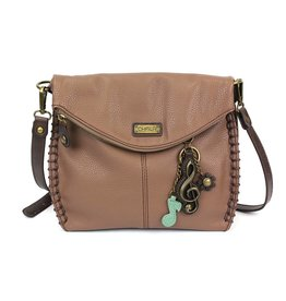 Chala Charming Crossbody - Brown - Treble Clef