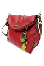 Chala Charming Crossbody - Burgundy - Bird