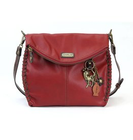 Chala Charming Crossbody - Burgundy - Slim Cat