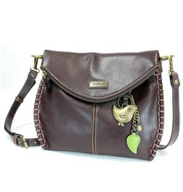 Chala Charming Crossbody - Dark Brown - Bird