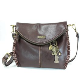 Chala Charming Crossbody - Dark Brown - Dog