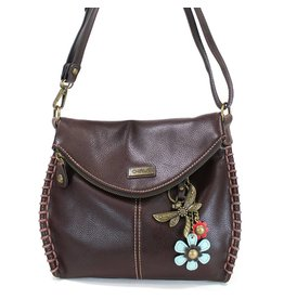 Chala Charming Crossbody - Dark Brown - Dragonfly