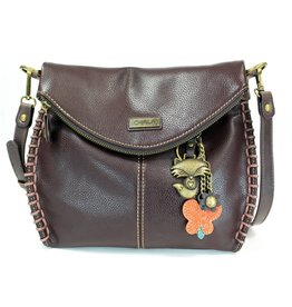 Chala Charming Crossbody - Dark Brown - Fox