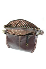 Chala Charming Crossbody - Dark Brown - Slim Cat