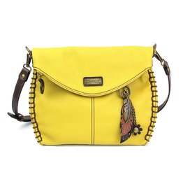 Chala Charming Crossbody - Mustard - Feather