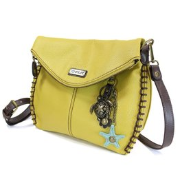 Chala Charming Crossbody - Mustard - Sea Turtle