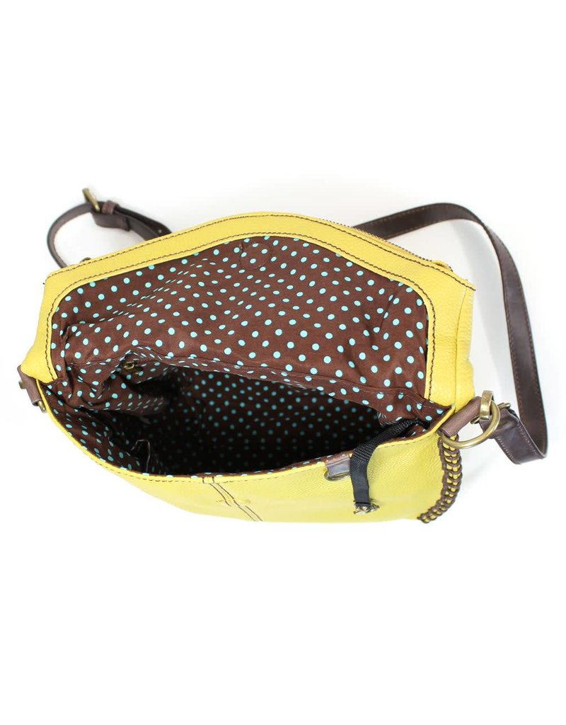 Chala Charming Crossbody - Mustard - Slim Cat