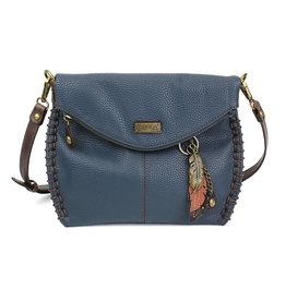Chala Charming Crossbody - Navy - Feather