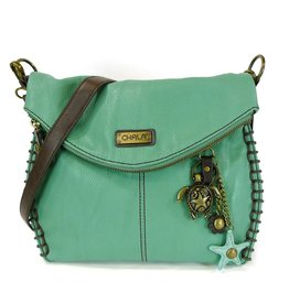 Chala Charming Crossbody Teal - Sea Turtle