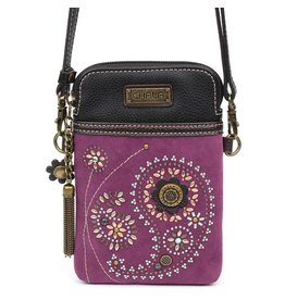 Chala Dazzled Cell Phone Crossbody Paisley