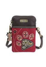 Chala Dazzled Cell Phone Crossbody Paw Print