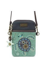 Chala Dazzled Cell Phone Crossbody Turtle