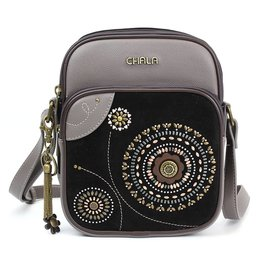 Chala Dazzled Organizer Crossbody Black Starburst
