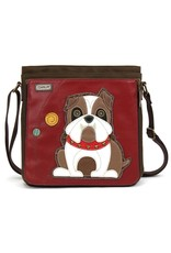Chala Deluxe Messenger Crossbody Bulldog