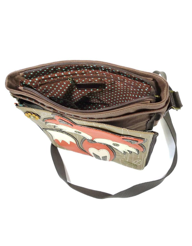 Chala Deluxe Messenger Crossbody Fox
