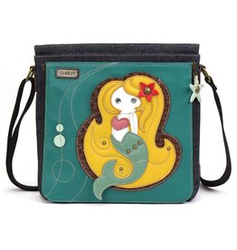 Chala Deluxe Messenger Crossbody Mermaid