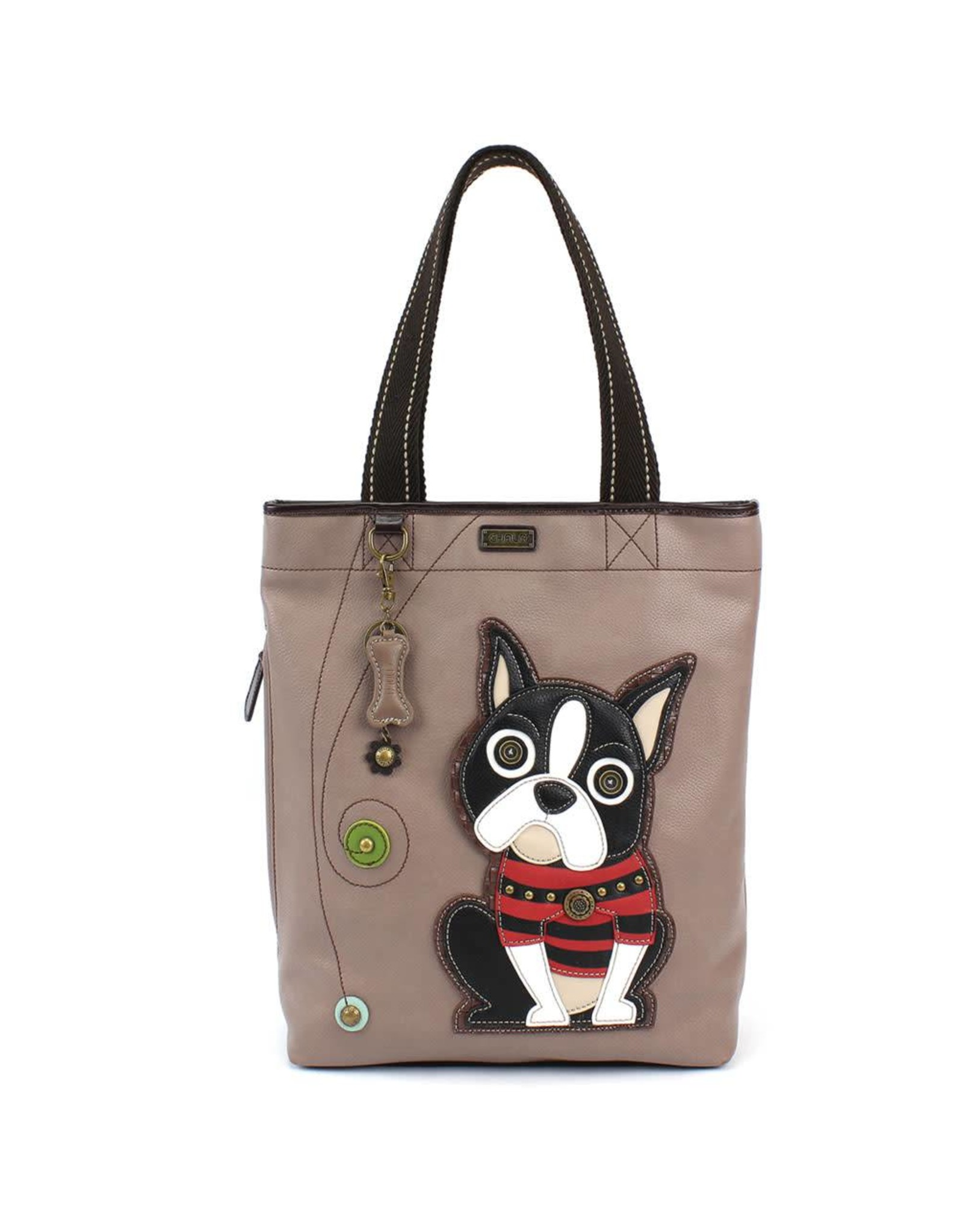Chala Everyday Zip Tote II Boston Terrier