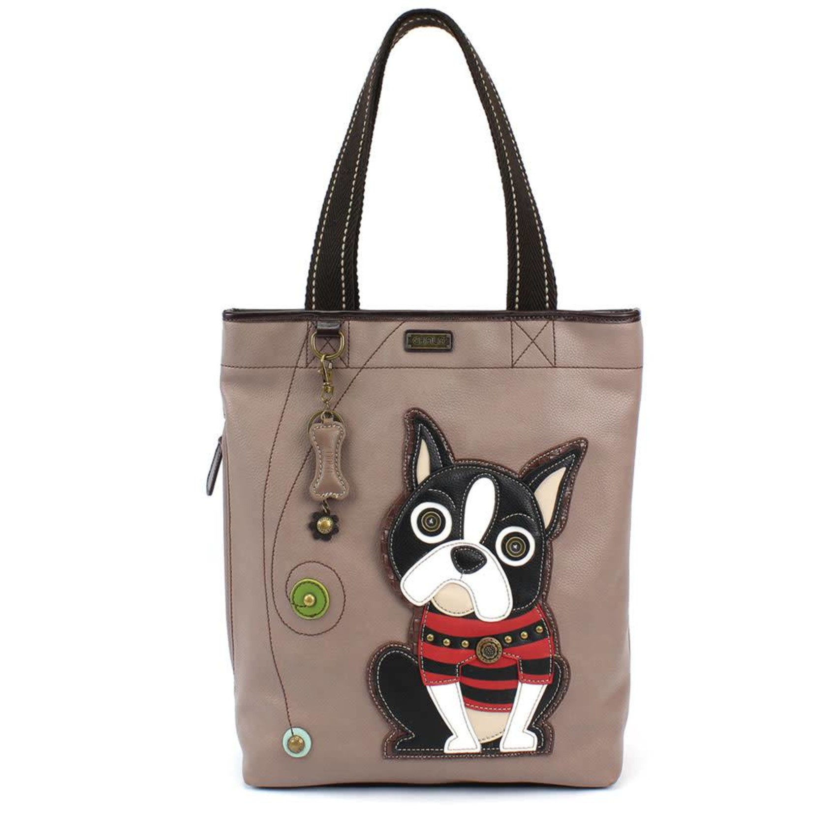 Chala Everyday Zip Tote II Boston Terrier