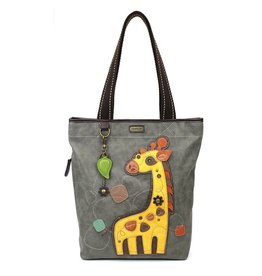 Chala Everyday Zip Tote II Giraffe