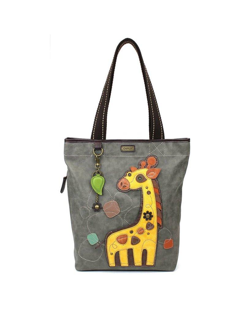 Chala Everyday Zip Tote II Giraffe