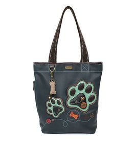 Chala Everyday Zip Tote II Paw Print