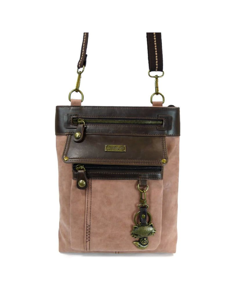 Chala Gemini Crossbody Dusty Rose Fox