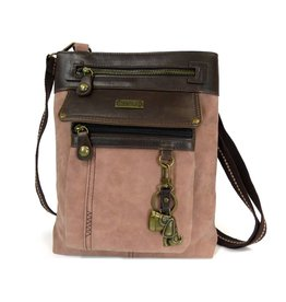 Chala Gemini Crossbody Dusty Rose Dog