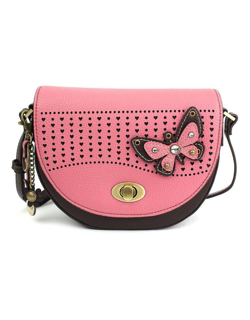 Chala Half Moon Crossbody Butterfly