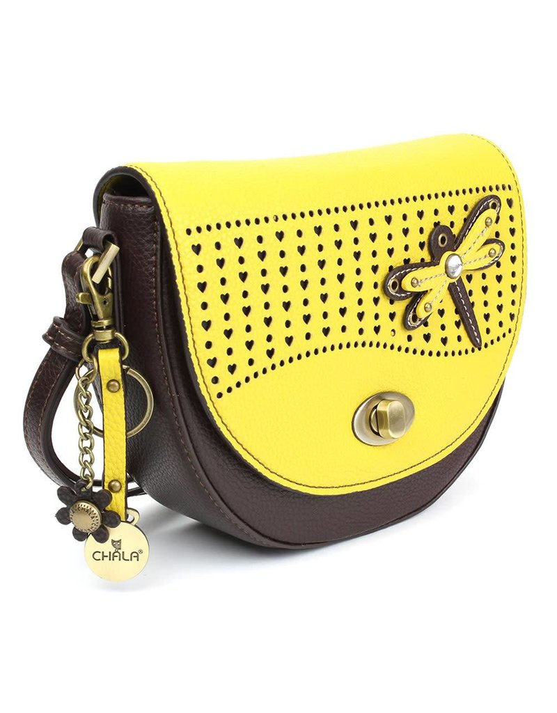 Chala Half Moon Crossbody Dragonfly