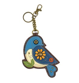 Chala Key Fob Blue Bird