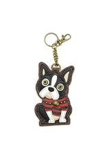 Chala Key Fob Boston Terrier