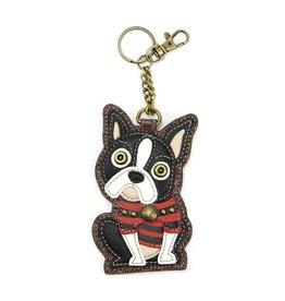 Chala Key Fob Boston Terrier