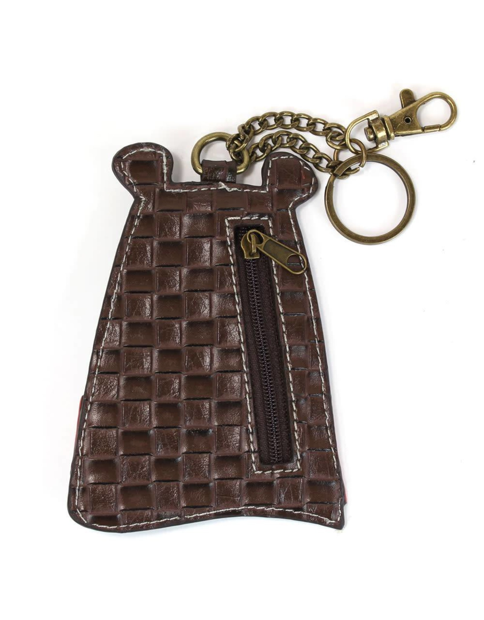 Chala Key Fob Brown Bear