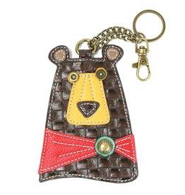Chala Key Fob Brown Bear