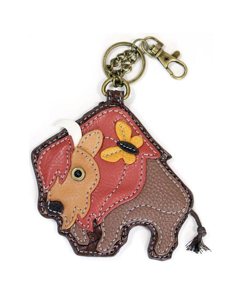 Chala Key Fob Buffalo