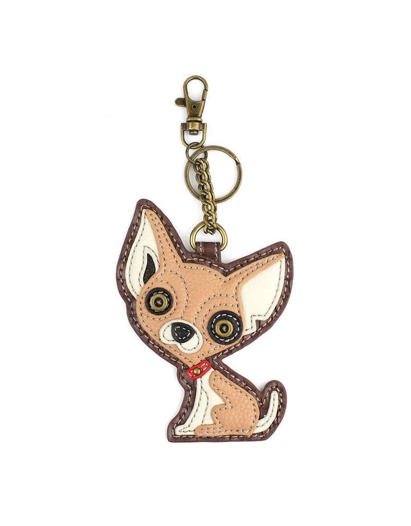 Chala Key Fob Chihuahua