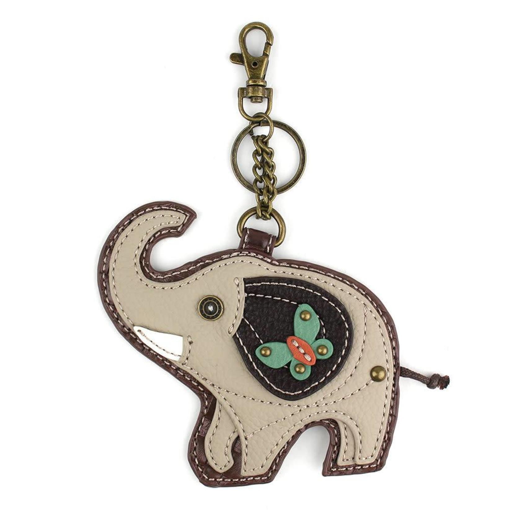 Chala Key Fob Gray Elephant
