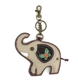 Chala Key Fob Gray Elephant