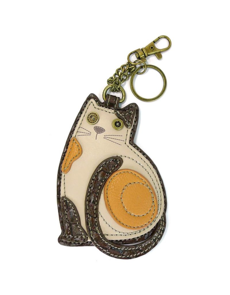 Chala Key Fob LaZzy Cat