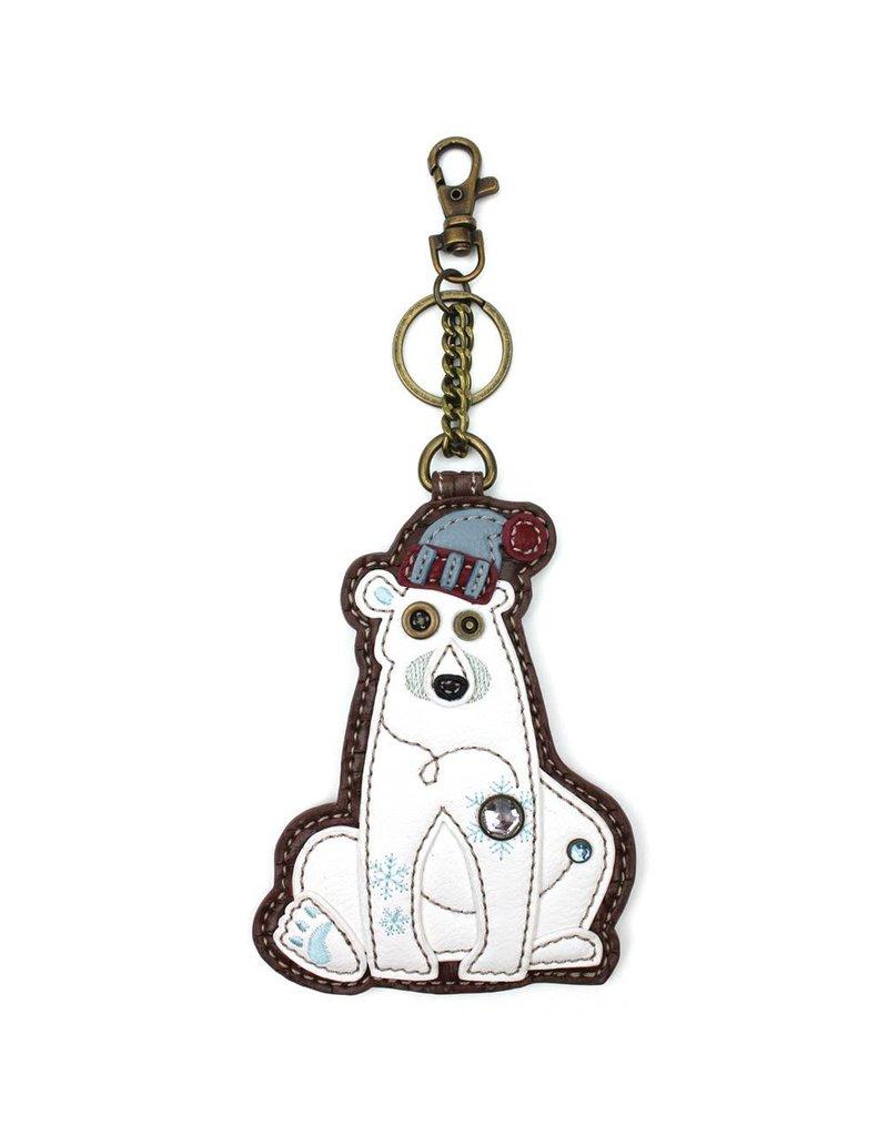 Chala Key Fob Polar Bear